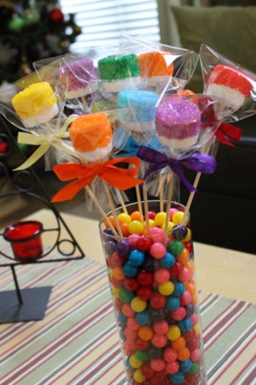 centros de mesa para un cumpleaños junior express