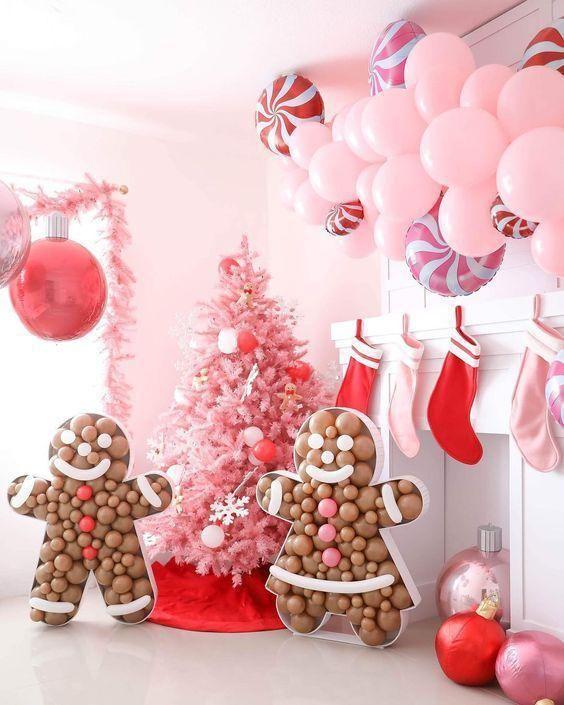 coloca un backdrops a la fiesta de navidad y noche buena