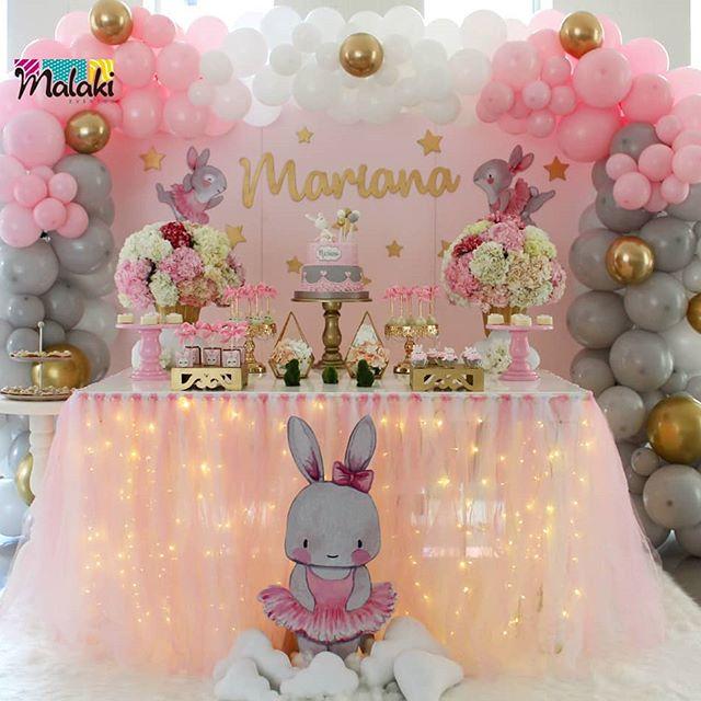 Ideas para una fiesta infantil de conejos