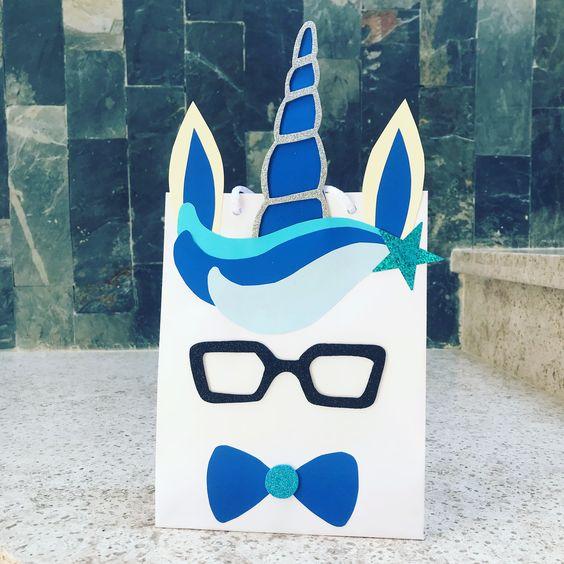 dulceros para fiesta de unicornio de niño