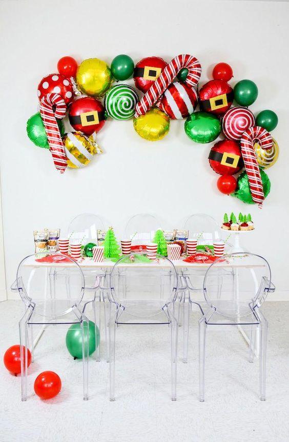 elige la decoracion para la posada navideña