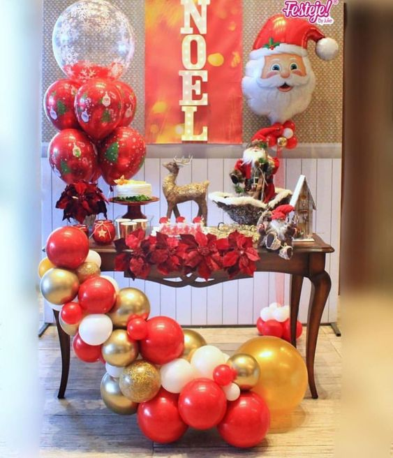 elige los detalles para la mesa de dulces de la posada navideña