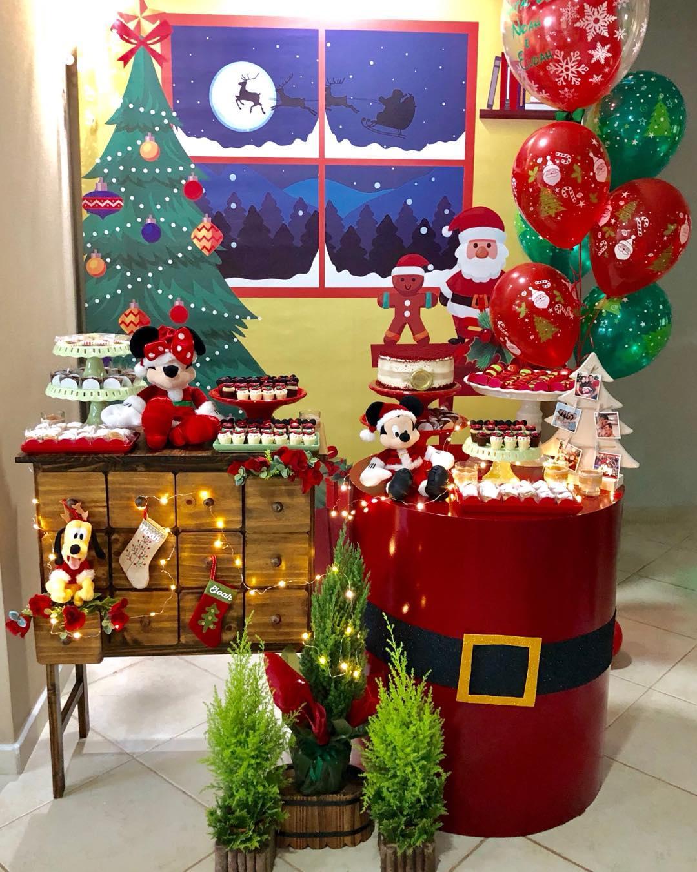 elige la tematica para decorar una fiesta de navidad y noche buena