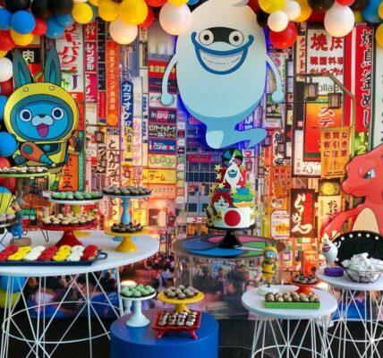 fiesta infantil de yo kai watch