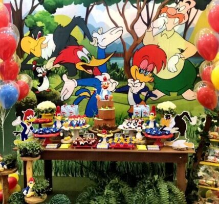 fiesta infantil del pajaro loco