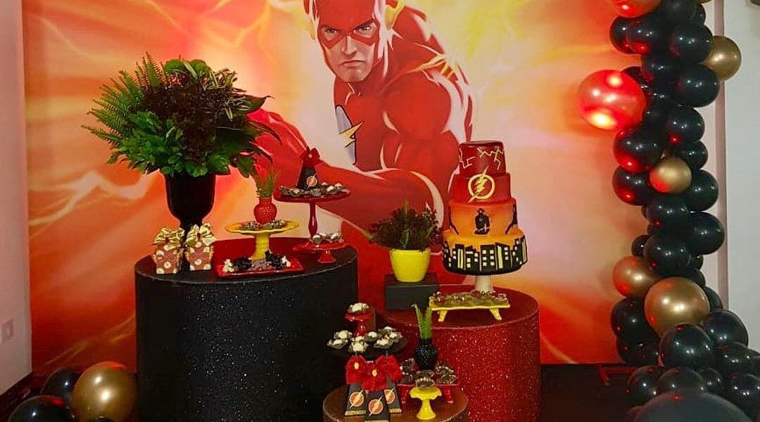 fiesta tematica de flash