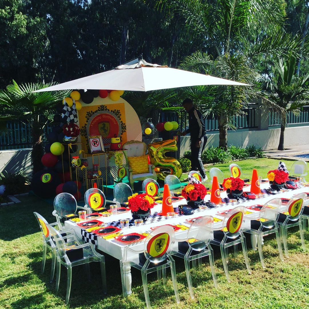 ideas para decorar una fiesta de formula 1