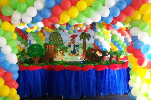 ideas para decorar una fiesta de pajaro loco