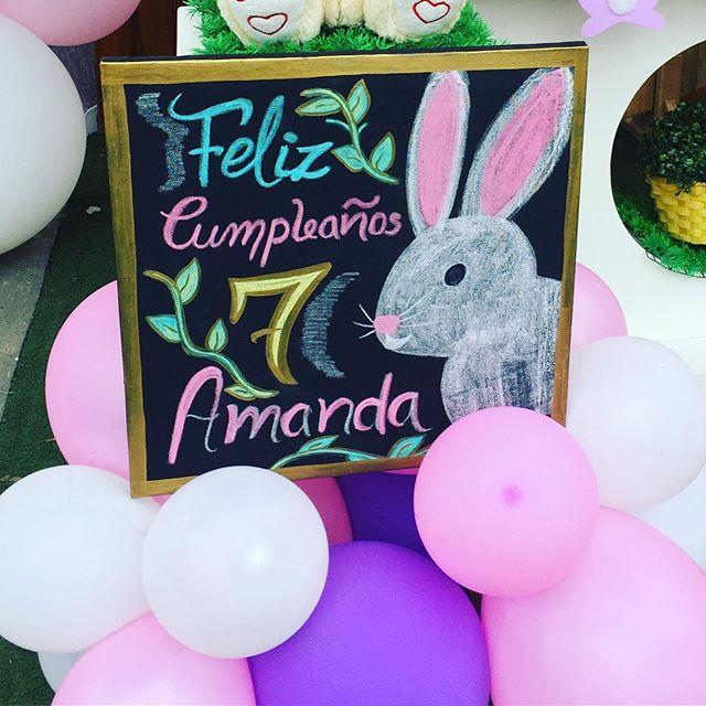 ideas para decorar una fiesta de un cumpleaños de conejos