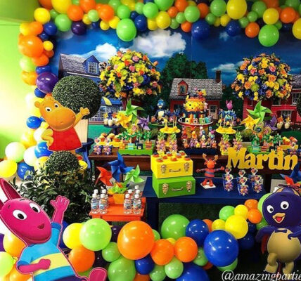 ideas para un cumpleaños de backyardigans