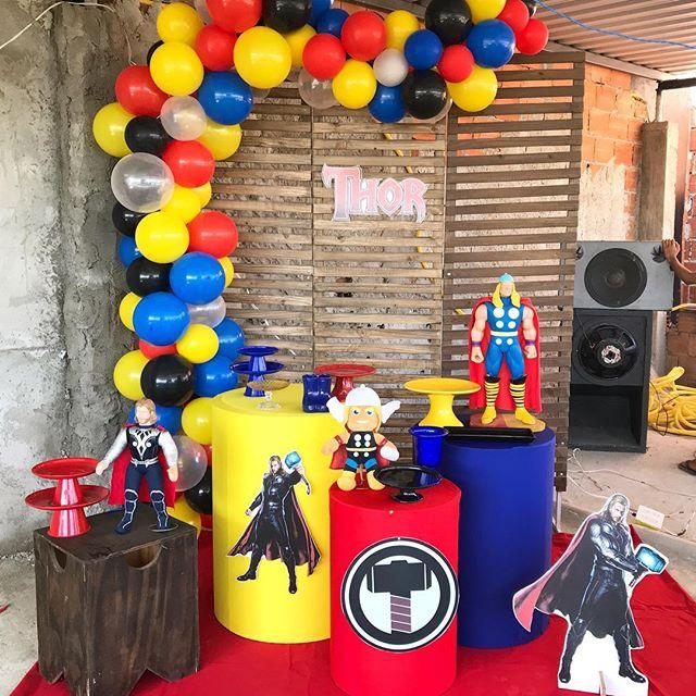 ideas para una fiesta de thor