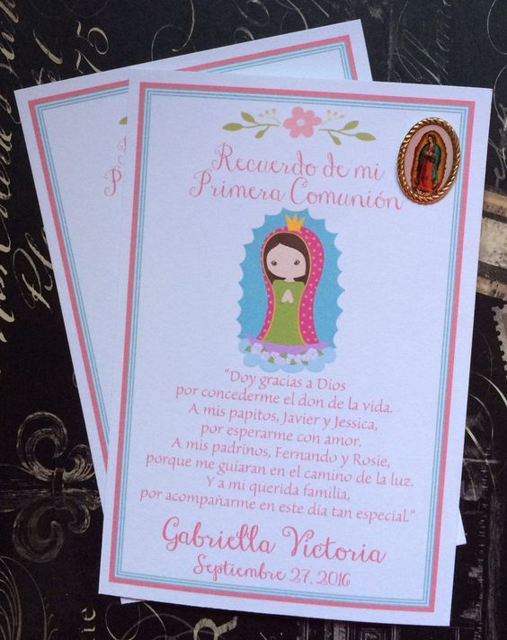 invitaciones para la fiesta de virgen de guadalaupe