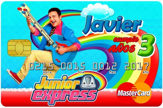 invitaciones para un cumpleaños de junior express