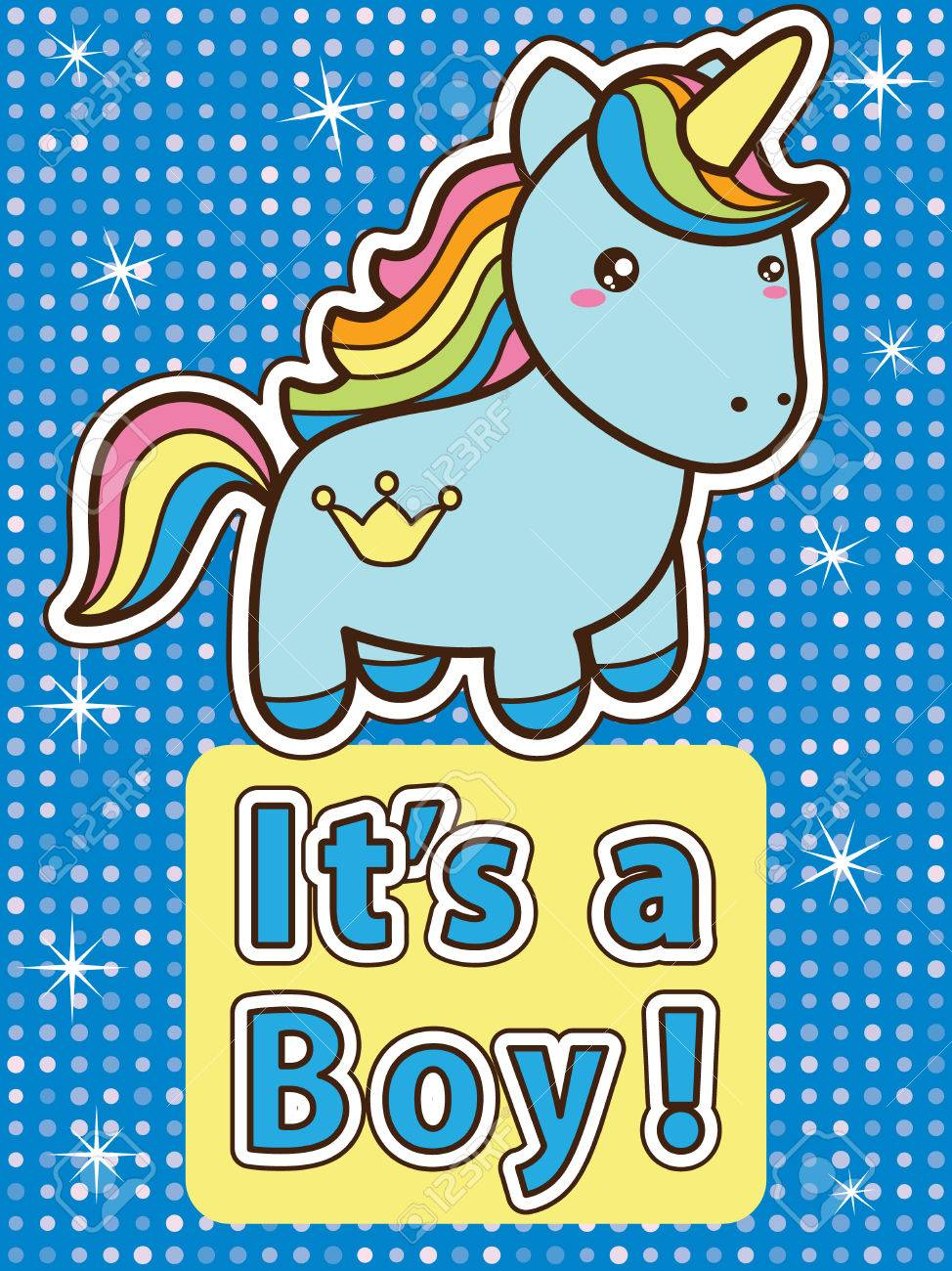invitaciones para un cumpleaños de unicornio de niño