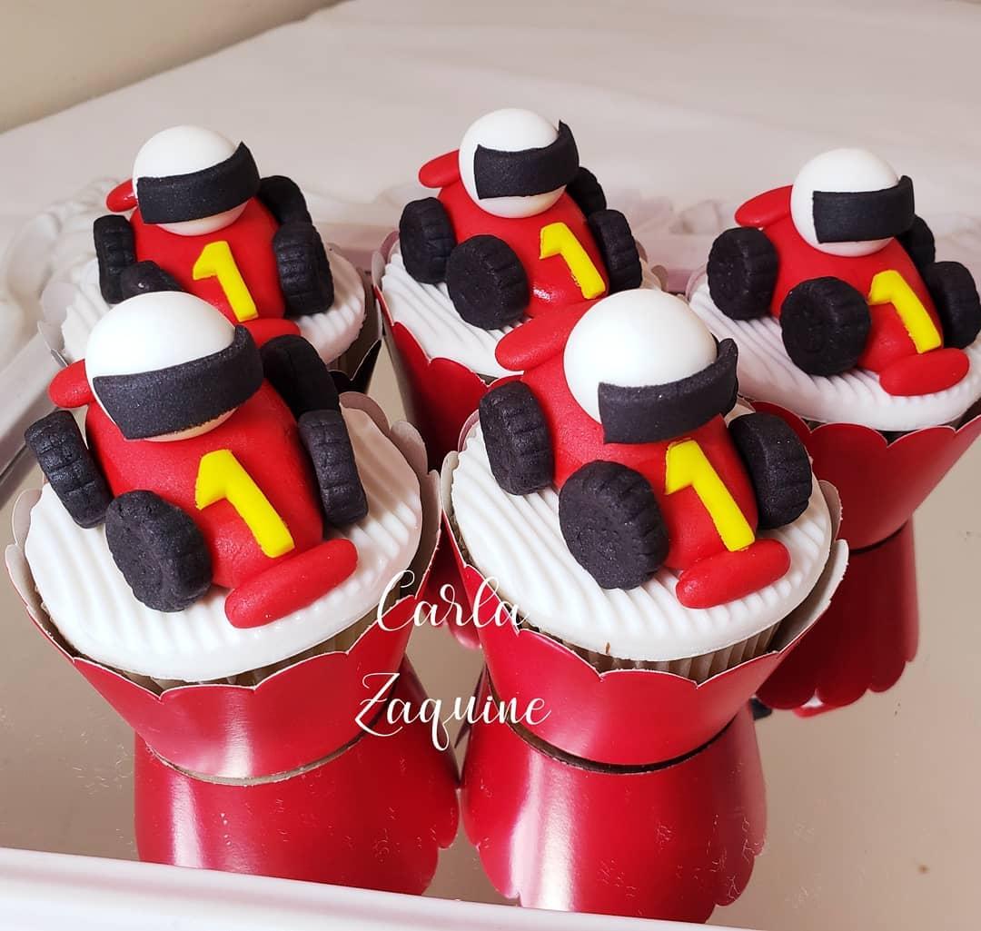 mesa de dulces para fiesta de formula 1