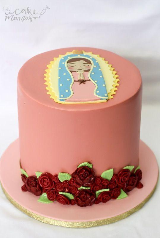pastel para cumpleaños de la virgen de guadalupe