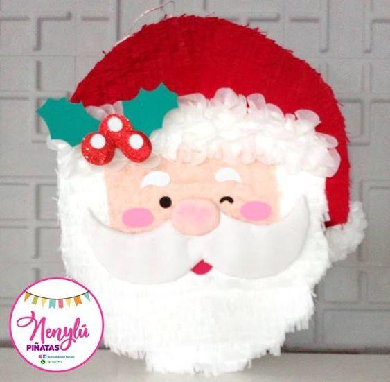 piñata para la fiesta de noche buena y navidad