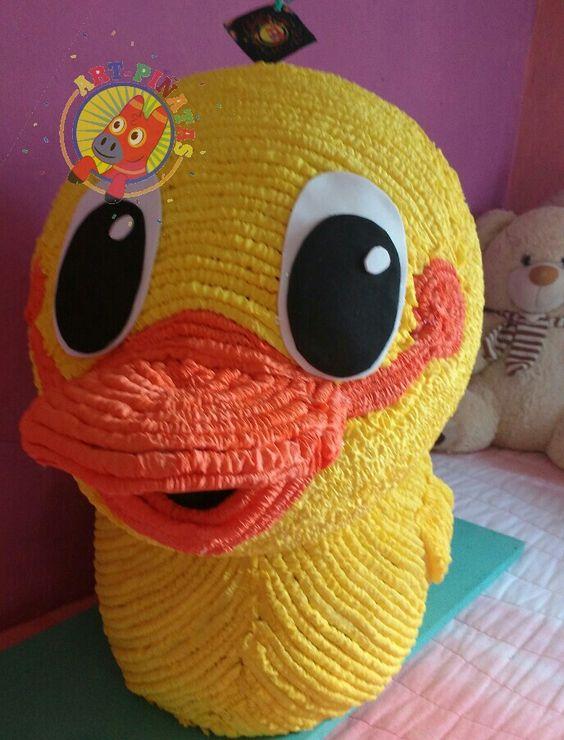 piñatas de cumpleaños de patito juan
