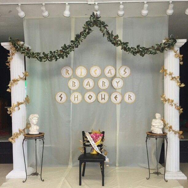 Backdrops para fiesta de la antigua Grecia