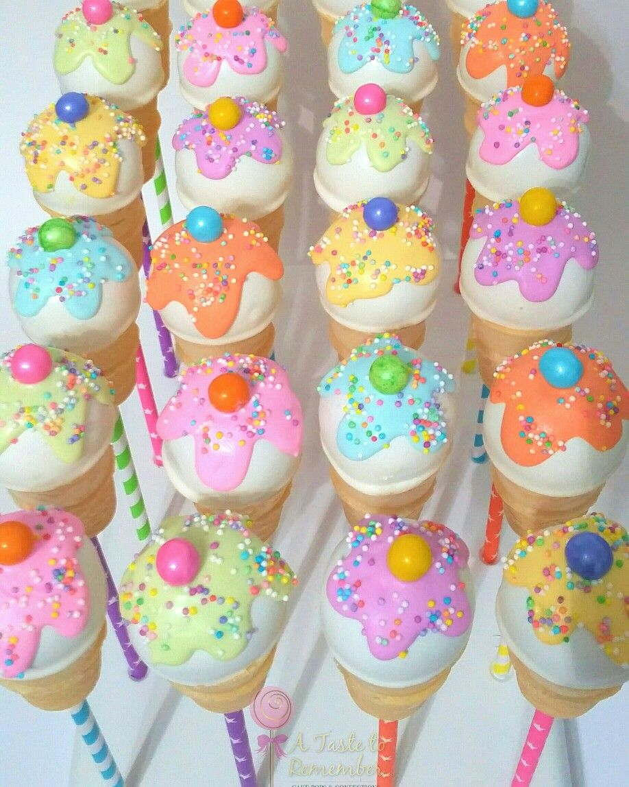 cakepops para fiesta infantil candy land