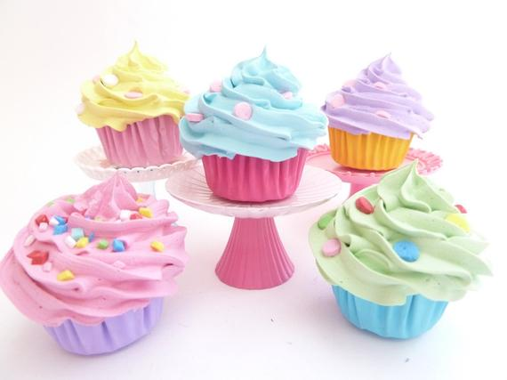 cupcakes para fiesta infantil candy land