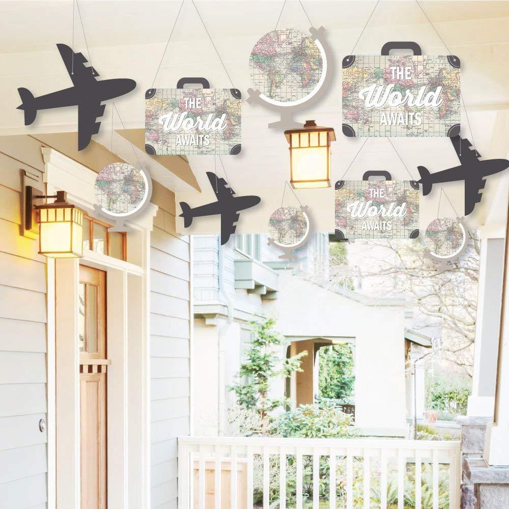 Ideas para decorar una fiesta de una de viajes