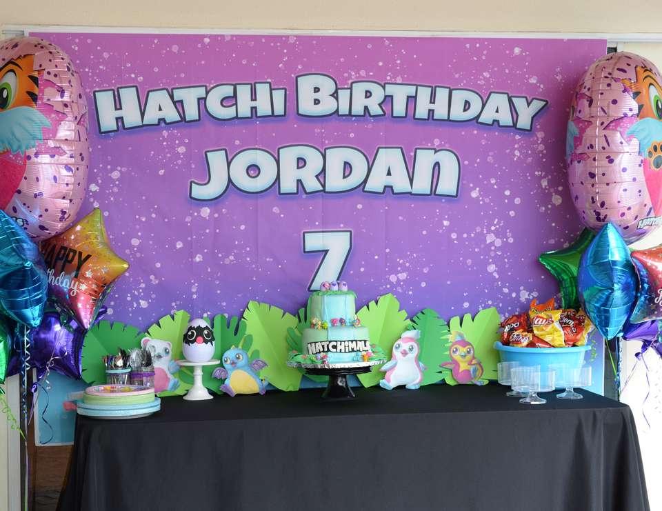 Backdrops para fiesta de hatchimals