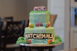 Pastel para una fiesta de hatchimals