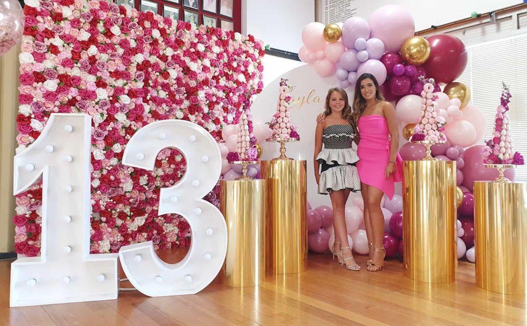 Decoración de fiestas elegantes con globos para adolescentes