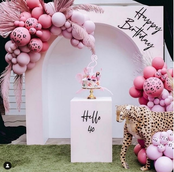Decoraciones modernas para fiestas de cumpleaños