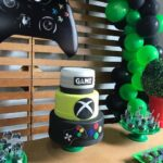 Diseños de pastel para fiesta gamer