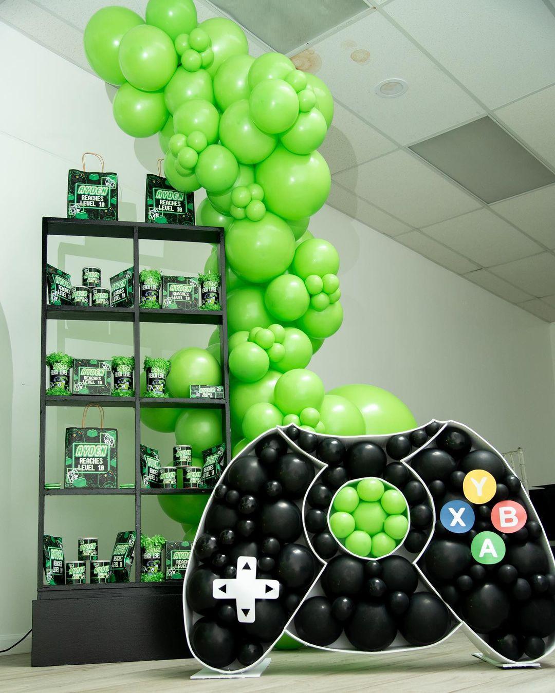 Ideas para una fiesta gamer