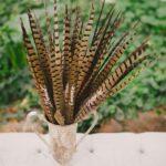 Ideas de centros de mesa con plumas
