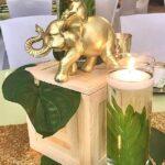 Diseños de centros de mesa con animales