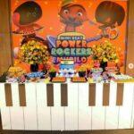 Fiesta infantil temática mini beat power rockers
