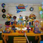 Invitaciones para fiesta de mini beat power rockers